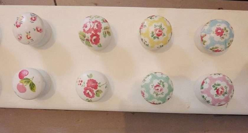 Cupboard Knobs Cath Kidston Paper