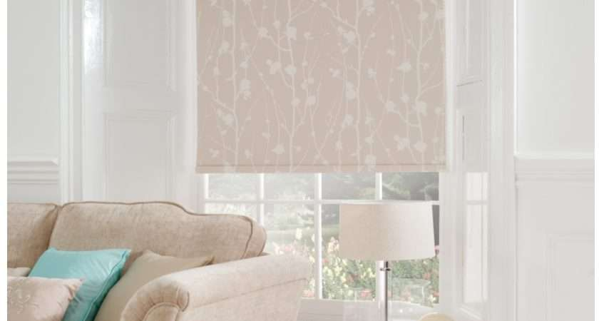 Curtain Patterned Roller Blind Photos
