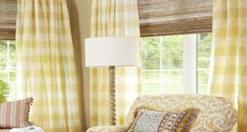 Curtains French Country Shabby Chic Living Room