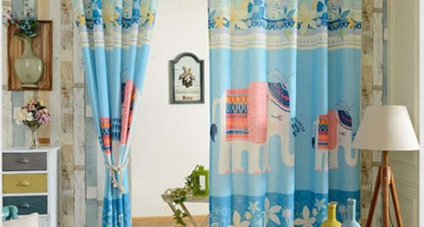 Curtains Window Tulle Curtain Voile Kids Decoration