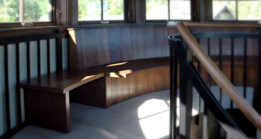 Custom Banquettes Benches Vermont Furniture Makers