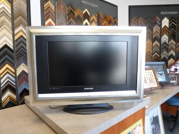 Custom Frame Your Flat Screen Pinterest