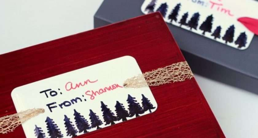 Cute Creative Diy Christmas Gift Tag Ideas Style