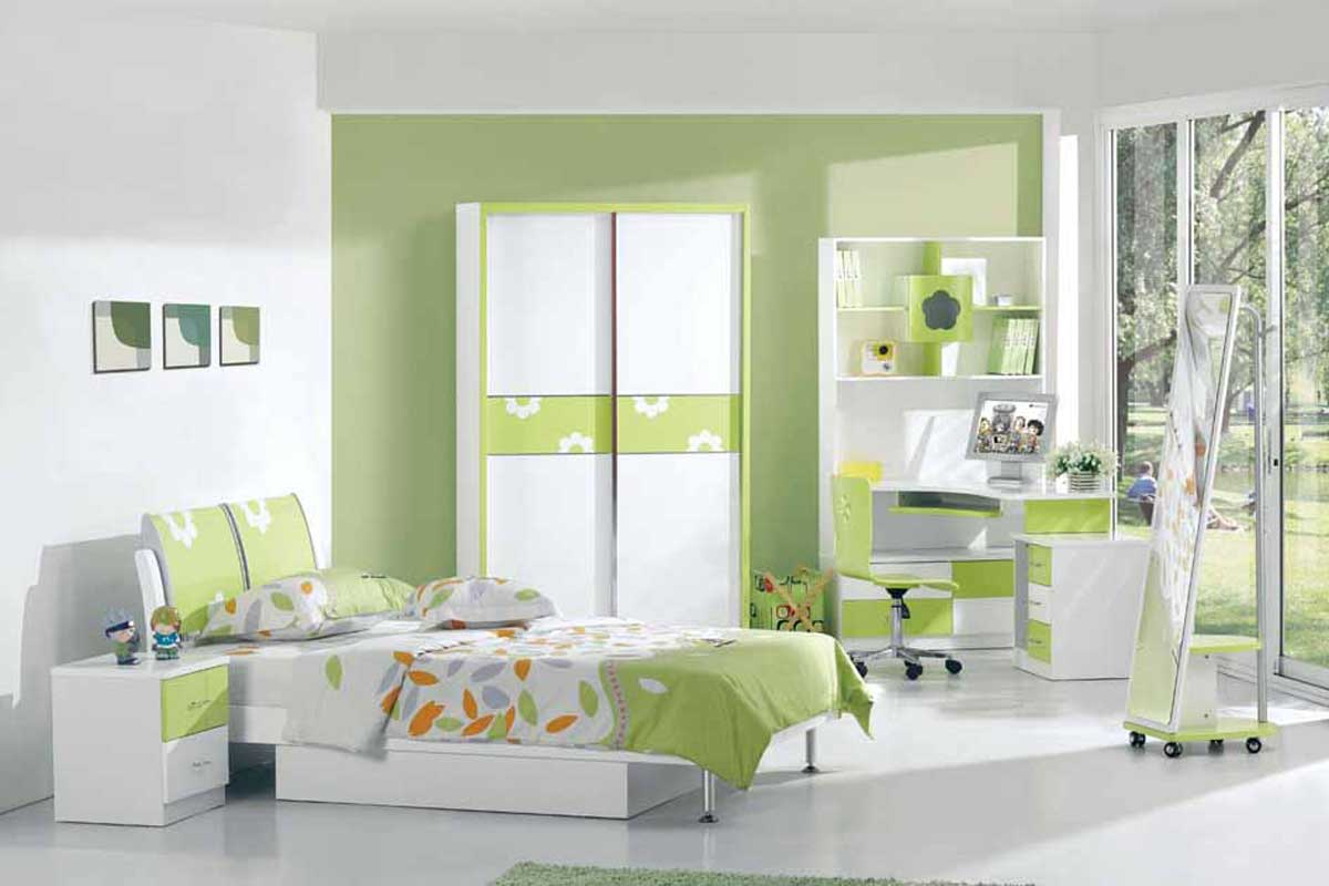 Cute Kids Bedroom Design
