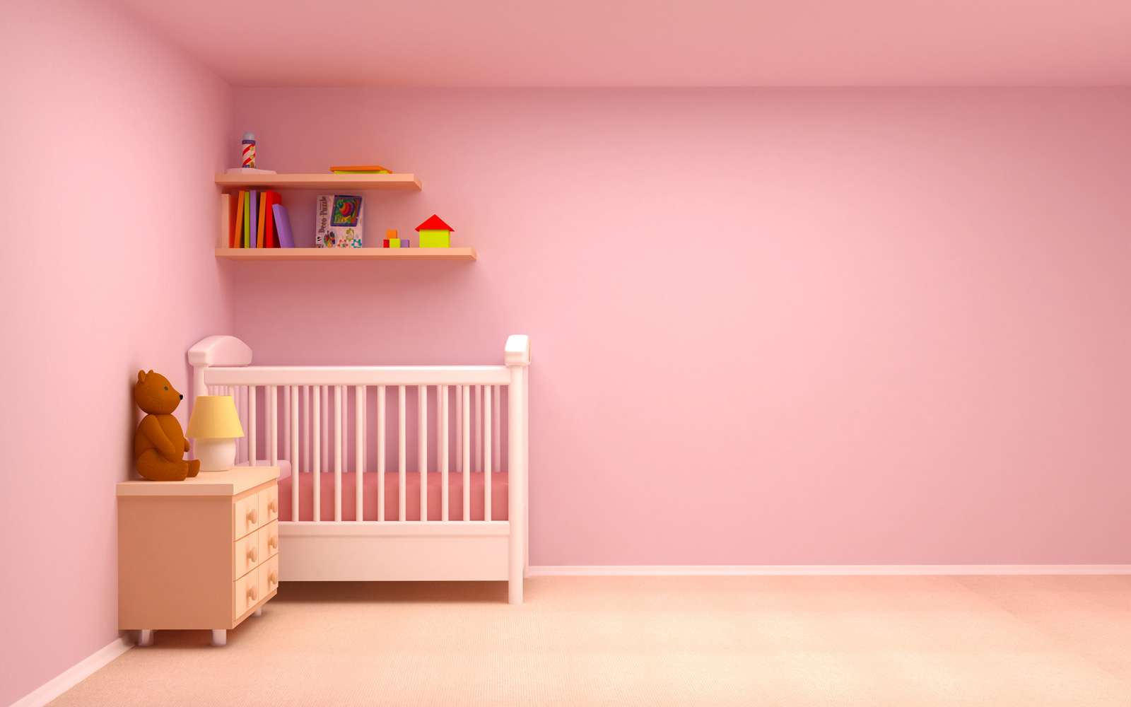 Cute Pink Baby Bedding Decorating Ideas Room