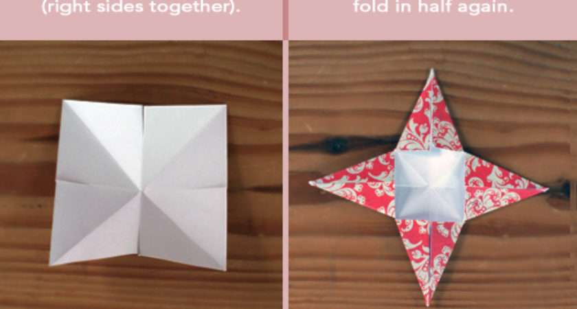 Days Christmas Paper Star Ornaments Life Your Way