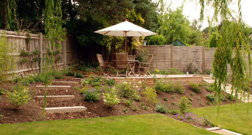 Dealing Sloped Gardens Lisa Cox Garden Designs Blog