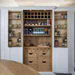 Deanery Frame Hand Painted Kitchen Larder