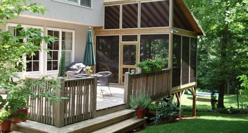 Deck Patio Ideas Small Backyards