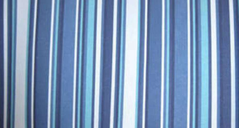 Deckchair Stripe Blue Green Fabrics