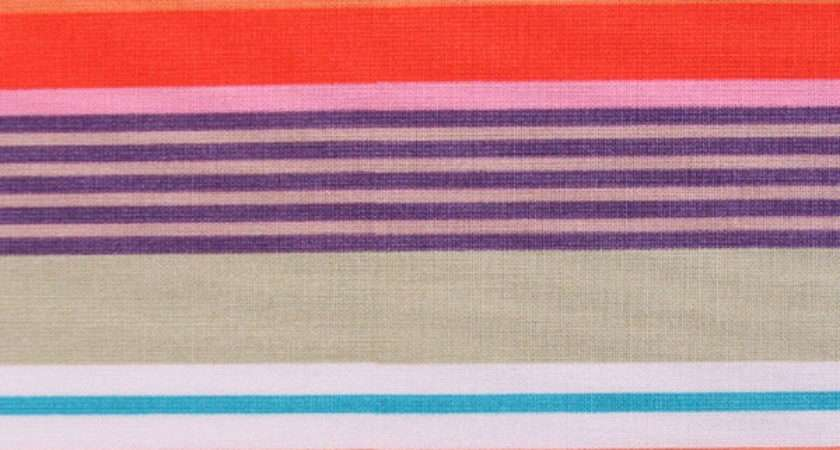 Deckchair Stripe Red