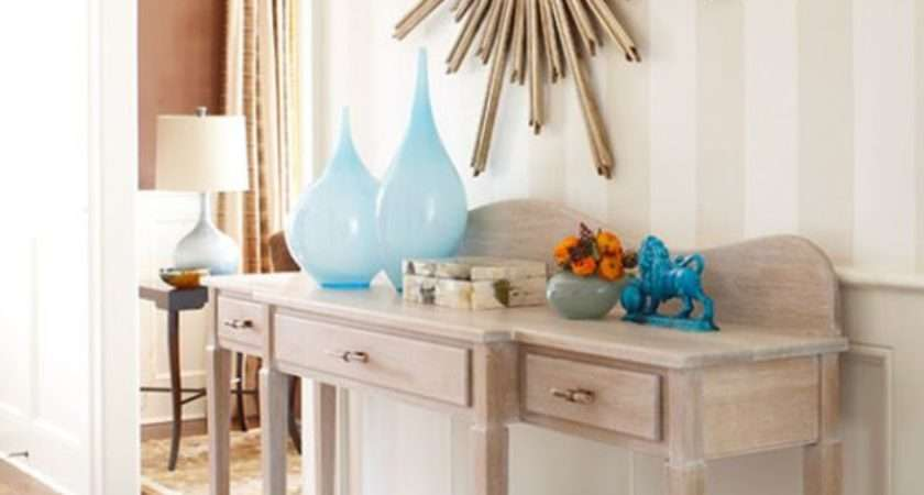 Decorate Console Table Top Seeing Forest