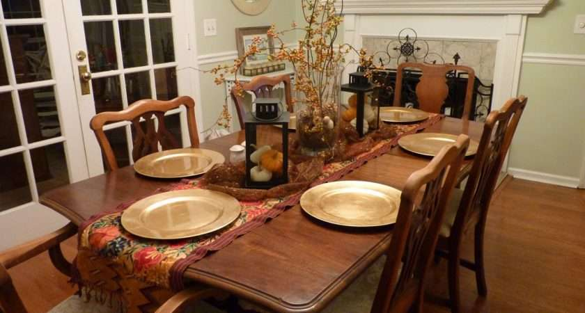 Decorate Dining Room Table Home Garden Decor