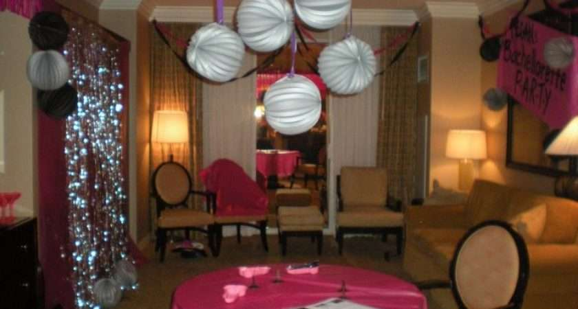 Decorate Hotel Room Bachelorette Party