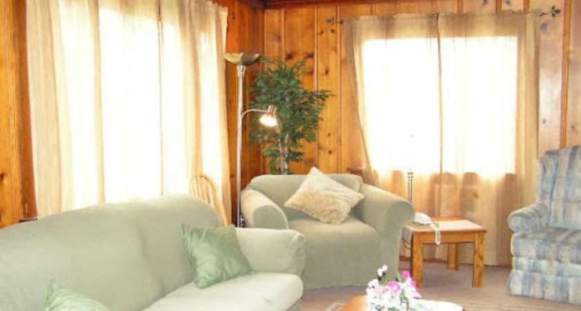 Decorate Wood Paneling Knotty Pine Room
