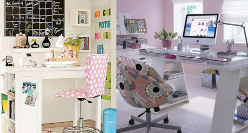 Decorate Your Desk Girly Design Homecaprice
