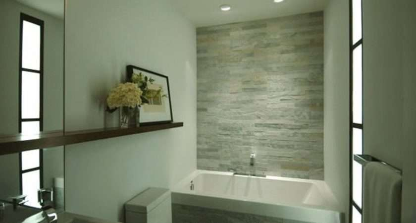 Decorating Contemporary Bathrooms Design Ideas Sweety White Wall