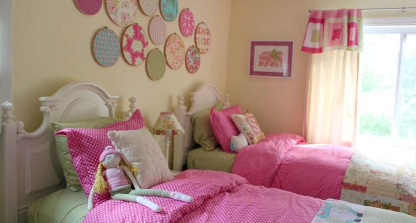 Decorating Girls Shared Toddler Bedroom Cottage Mama