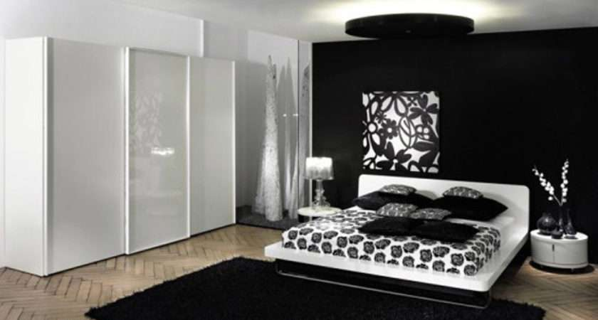 Decorating Ideas Black White Bedroom Room