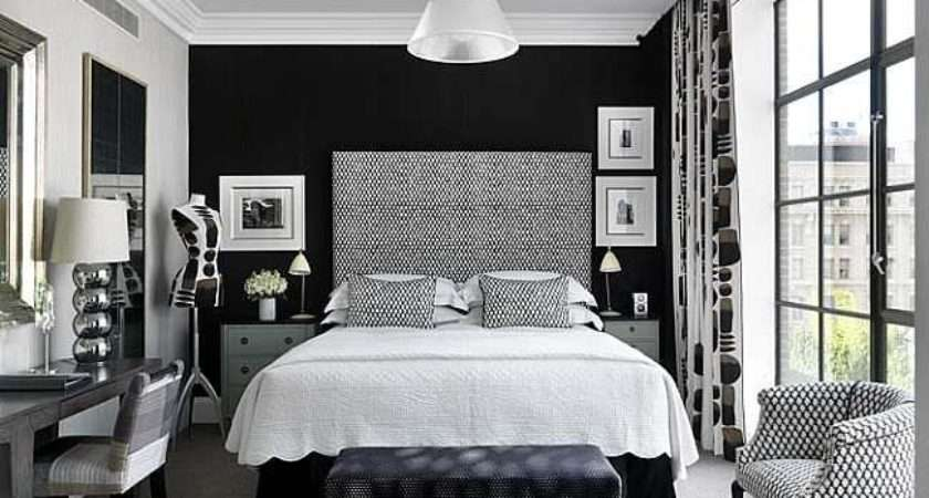 Decorating Ideas Black White Bedroom
