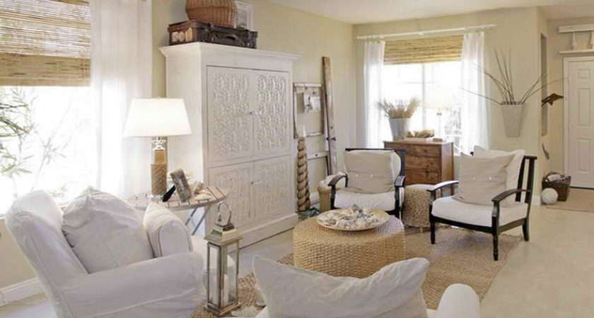 Decorating Ideas Cottage Living Room Beach Home