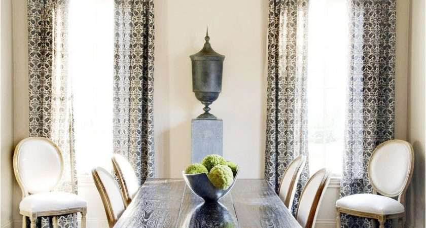 Decorating Ideas Dining Room Curtains