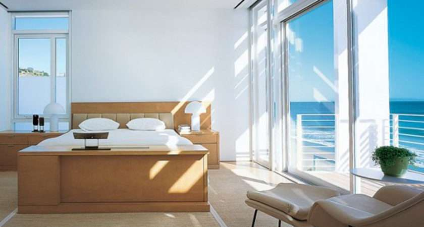 Decorating Ideas One Total White Modern Beach House