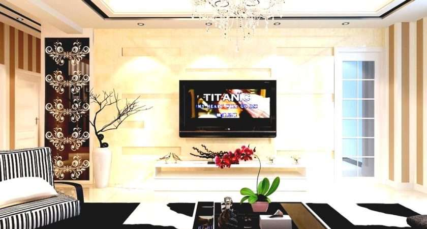 Decorating Living Room Decorate Walls Modern Ideas Golime