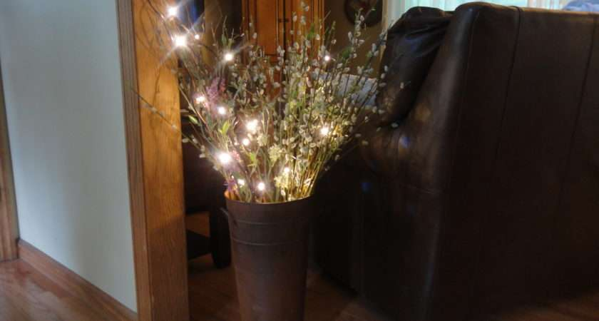 Decorating Tips Using Lighted Branches Floral Stems Branch