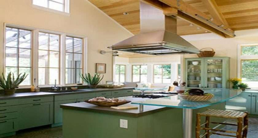Decorating Vaulted Ceiling Kitchen Pin Pinterest