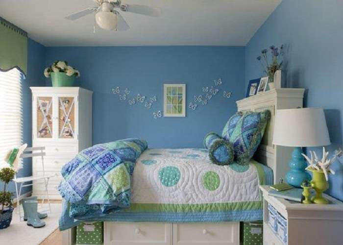 Decoration Beautiful Blue Room Ideas Teenage Girls