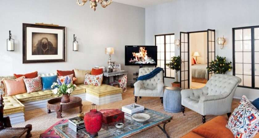 Decoration Eclectic Style Interior Design Ideas Living Room French
