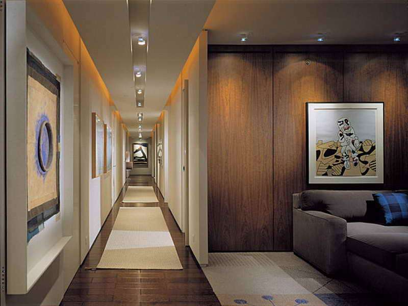Decoration Hallway Paint Ideas Lighting
