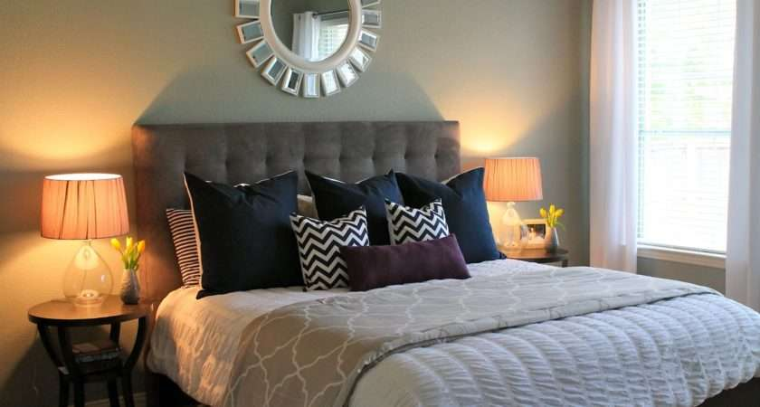 Decoration Ideas Small Master Bedroom Decorating Makeover