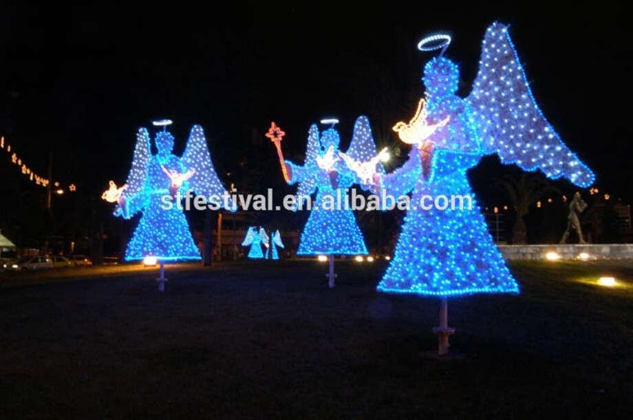 Decorations Outdoor Christmas Led Lighted Angel Buy