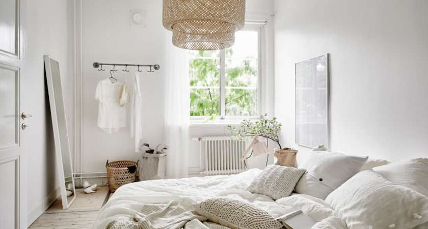 Decordots White Natural Bedroom Styling