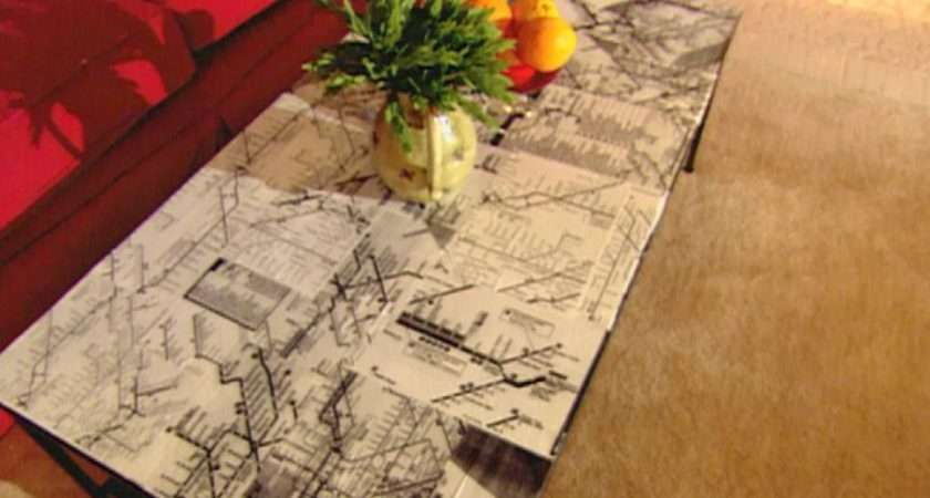 Decoupage Ideas Furniture Easy Crafts Homemade Decorating