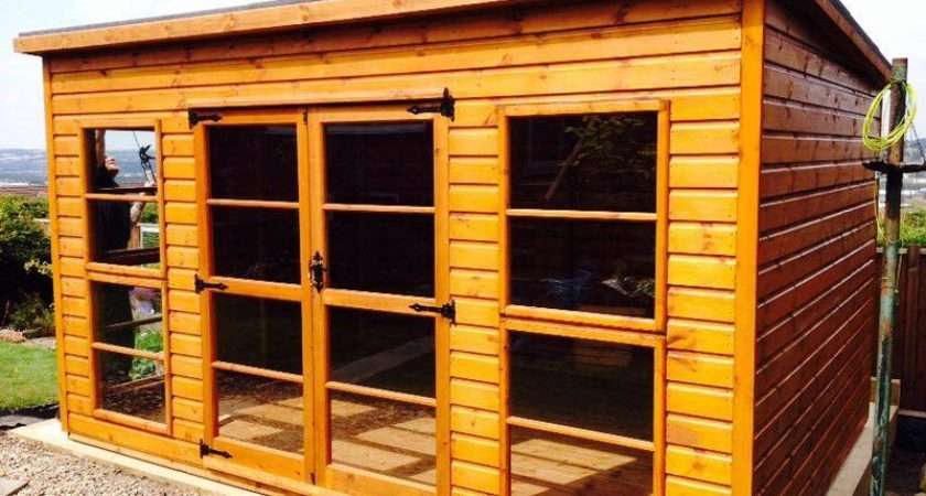 Demand Our Classic Pent Summerhouse Late Addition North