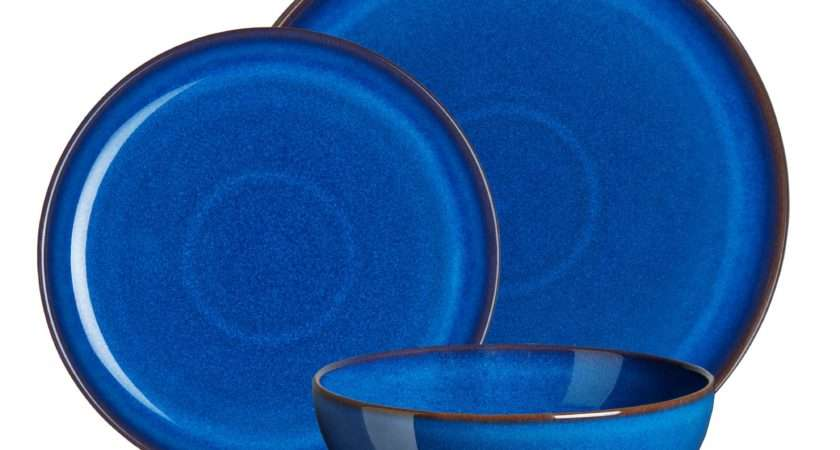 Denby Imperial Blue Piece Dinner Set Debenhams Ebay