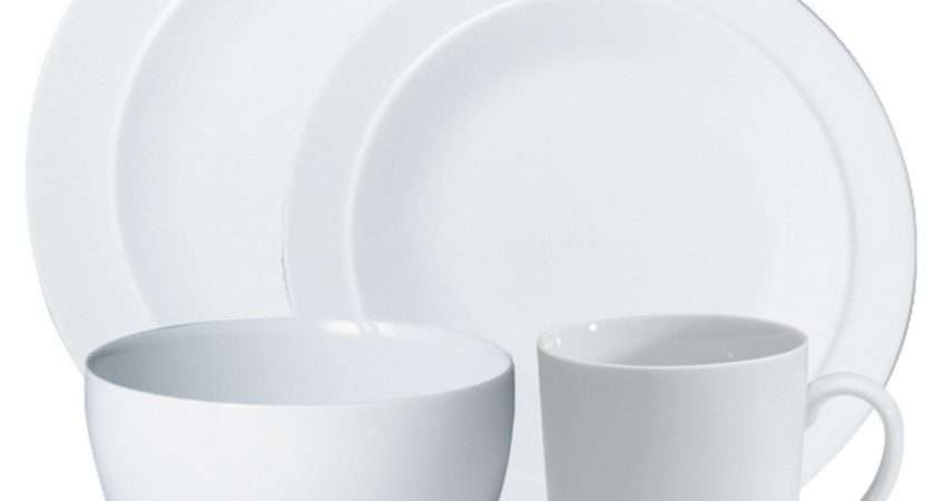 Denby White Piece Dinnerware Set Octer