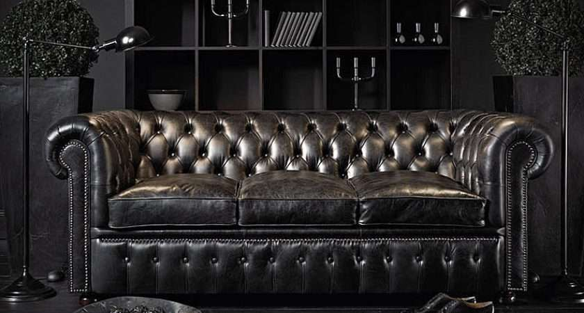 Design Geek Unsolved Mysteries Chesterfield Sofa