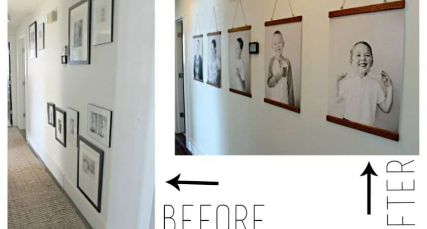 Design Ideas Ways Hanging Without Frames Love