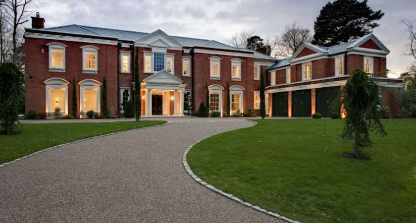 Design Interiors Newly Built Mansion Surrey Hill House