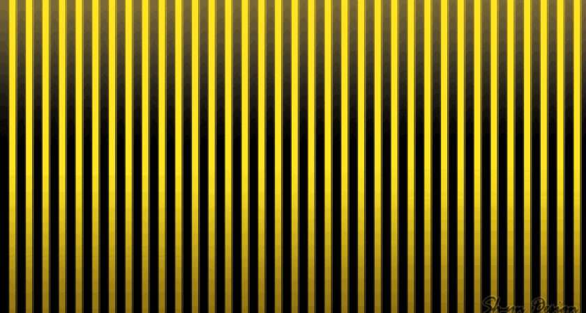 Design Stripe Pattern Yellow Black