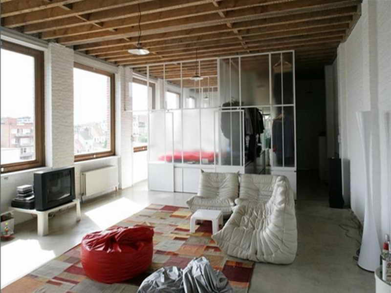 Design Style Loft Room Divider Home Interior