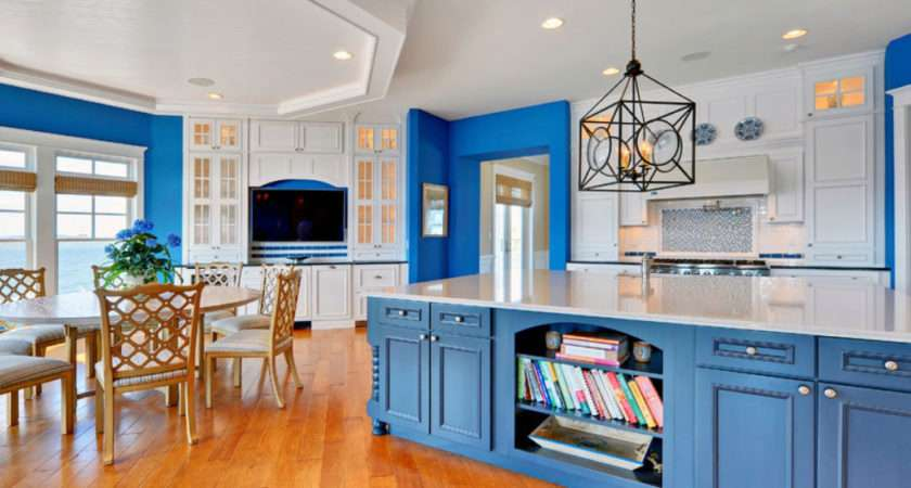 Design Trend Blue Kitchen Cabinets Ideas Get