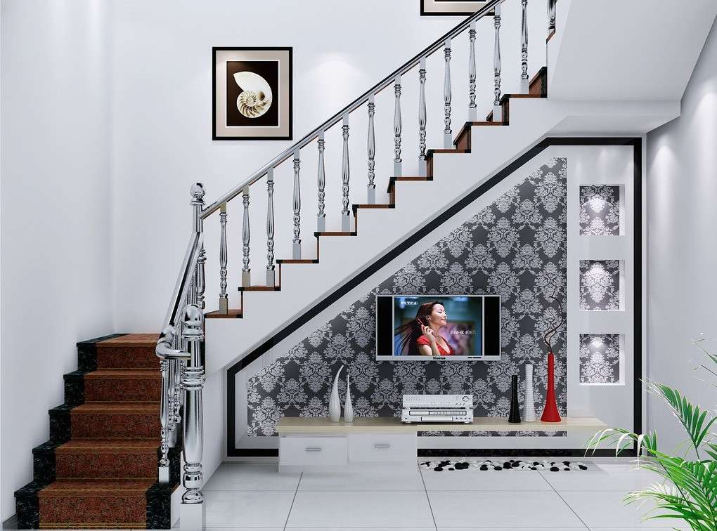 Design Villa Dining Room Staircase