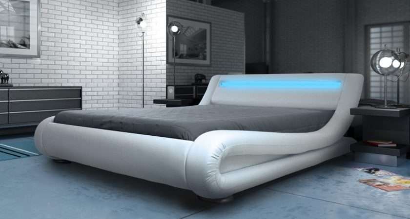 Designer Bed King Add Mattress Option Sale