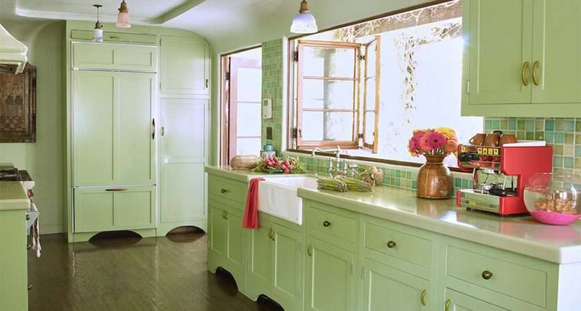 Designers Share Their Favorite Paint Colors Green Kitchens