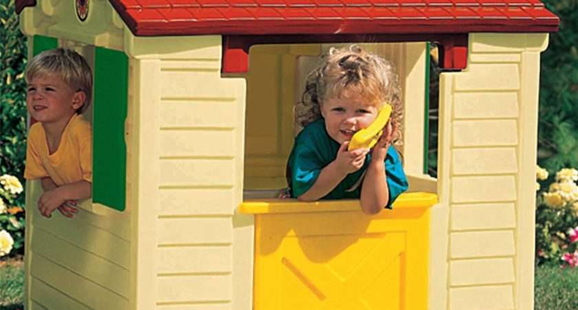Details Little Tikes Playhouse New Wendy House Natural